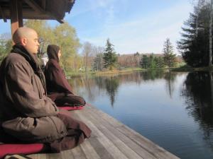 Plum Village_monks_meditating